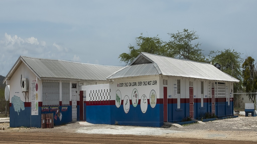 Mitchell Town Primary School serves the bauxite community of Clarendon.