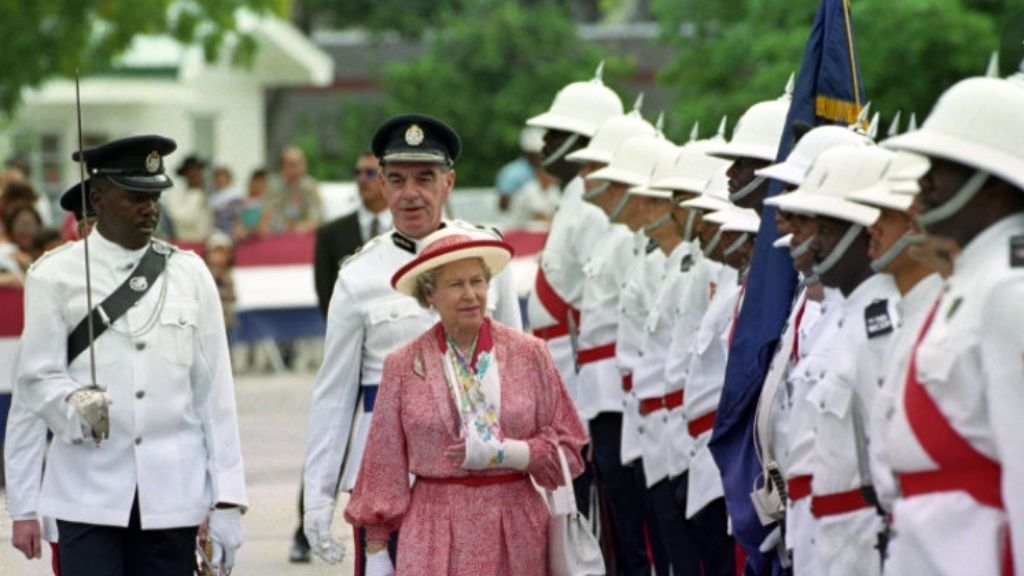 1994 Royal Visit to the Cayman Islands by Her Majesty and the Duke of Edinburgh