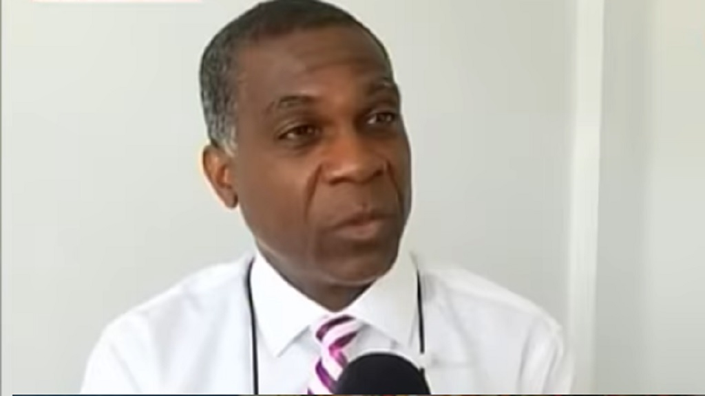 Legendary West Indies fast bowler Michael Holding.