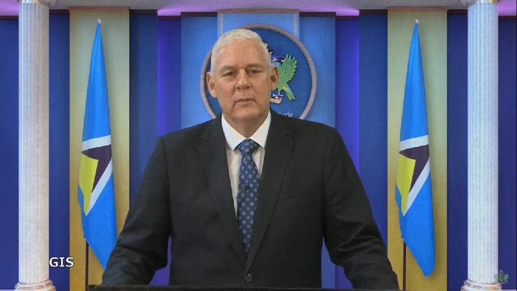 Prime Minister and Minister for Finance Hon Allen Chastanet