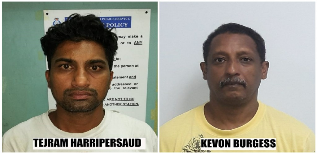 Photos provided by the Trinidad and Tobago Police Service (TTPS)
