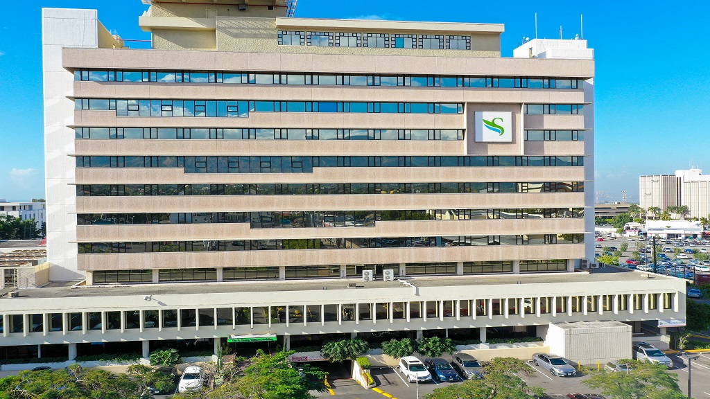 The R. Danny Williams Building in New Kingston today, which is the headquarters for Sagicor Group Jamaica.