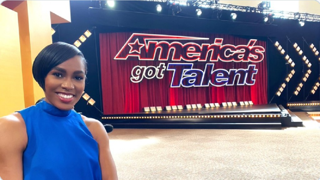 """""""Hey Everyone, America's Got Talent Premieres Tuesday, May 26 on@NBC and look who auditioned. Please tune in and look out for your girl,"""" Olympian Shevon Stoddart posted on her twitter page on Tuesday, May 19, 2020."""