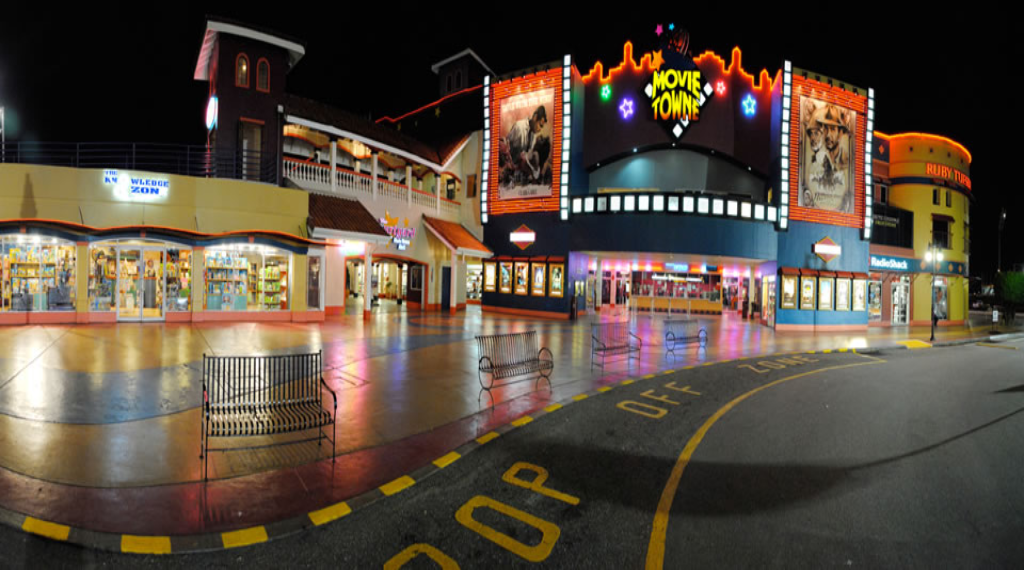 Pictured: MovieTowne, Port of Spain.