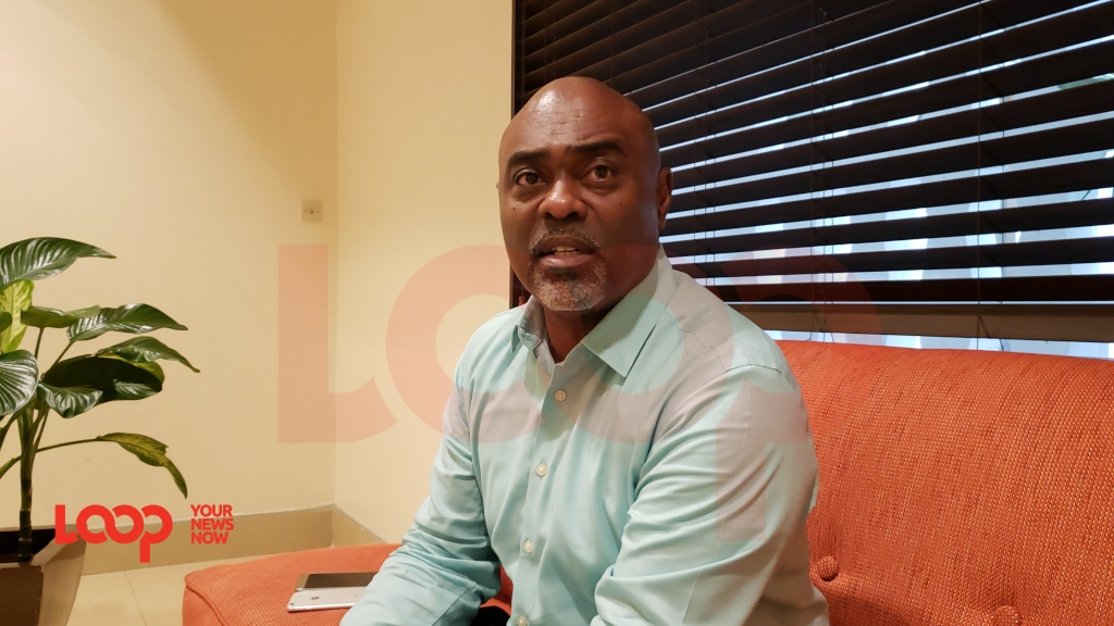 Chief executive officer  of the Barbados Hotel and Tourism Association, Senator Rudy Grant in Jamaica in April 2019 (FILE).