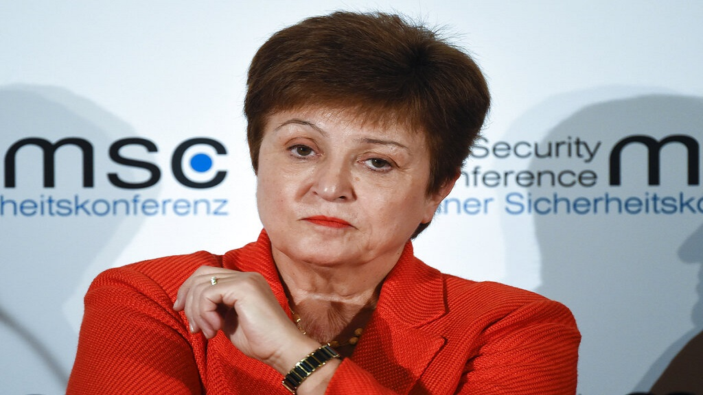 Kristalina Georgieva, Managing Director of the International Monetary Fund. (AP Photo/Jens Meyer, File)