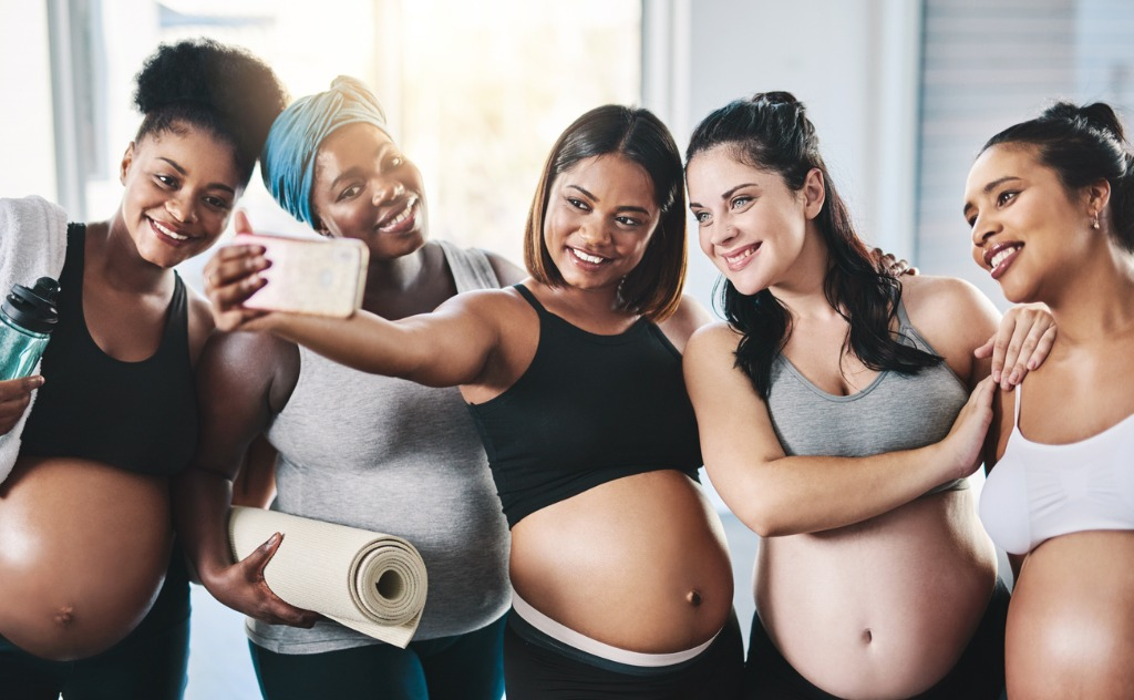 Pregnant women have reason to celebrate with Matrescence Skin, skincare for pregnancy and beyond. (Stock photo)