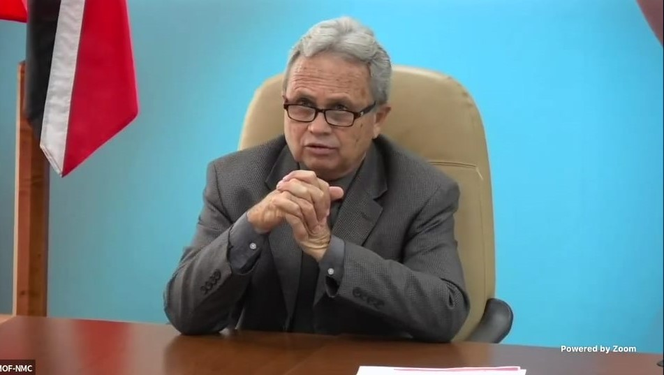 Finance Minister, Colm Imbert