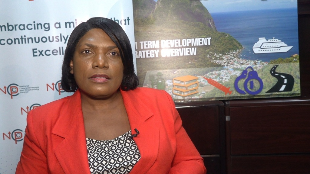 Acting Permanent Secretary and Director of Finance, Esther Rigobert