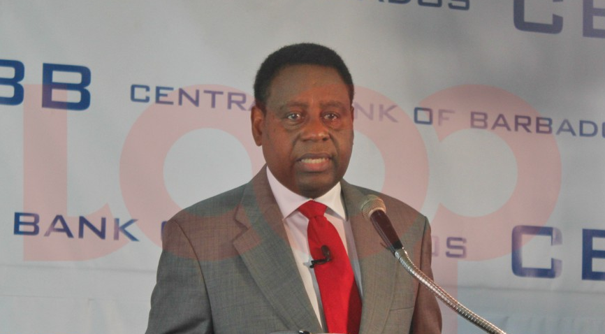 Barbados Central Bank Governor Cleviston Haynes (File Photo)