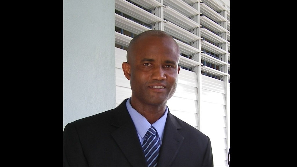 Kevin Lord of the Saint Lucia National Party (SNP)