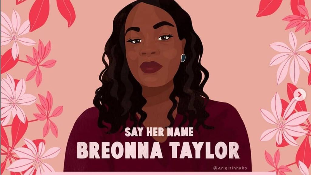 Artwork for #BirthdayForBreonna was done by illustrator Ariel Sinha