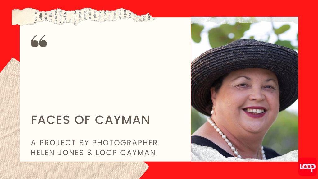 Photo of Joy Basdeo taken by photographer, Helen Jones