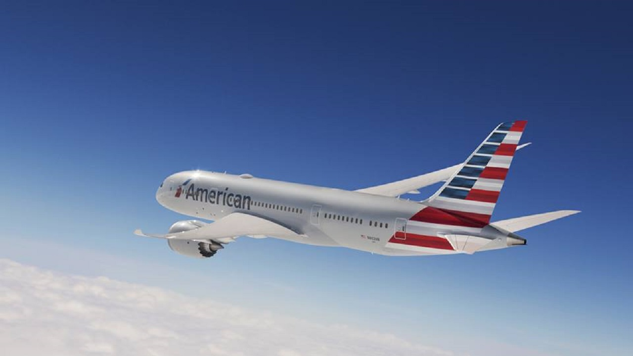File photo of an American Airlines aircraft.
