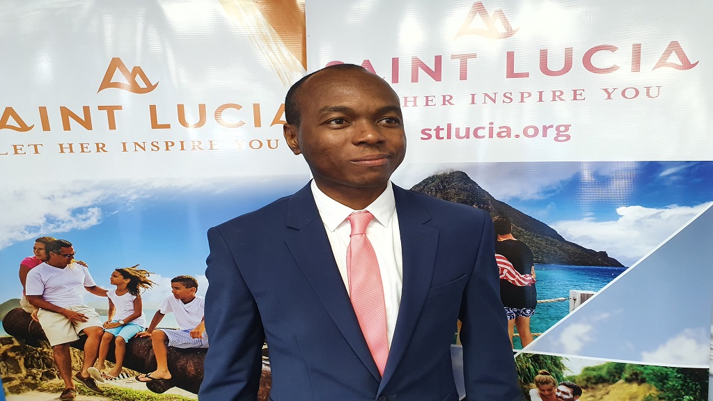 Saint Lucia's Minister of Tourism Dominic Fedee