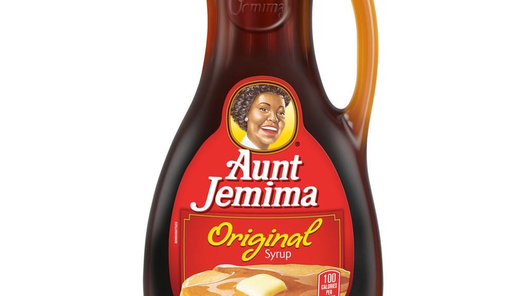Aunt Jemima old labelling