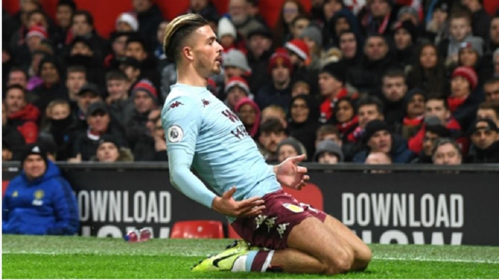 Aston Villa star Jack Grealish.