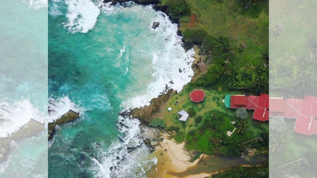 An aerial view of Go Natural Jamaica in Long Bay, Portland. (Photo: Contributed)
