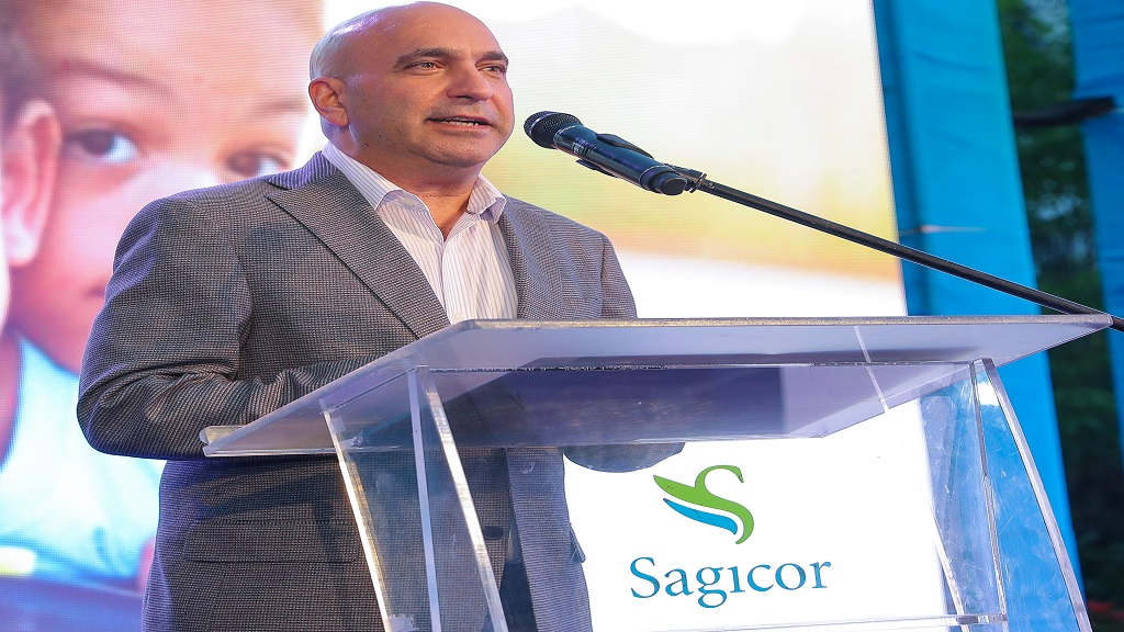 President and CEO of Sagicor Group Jamaica, Christopher Zacca.