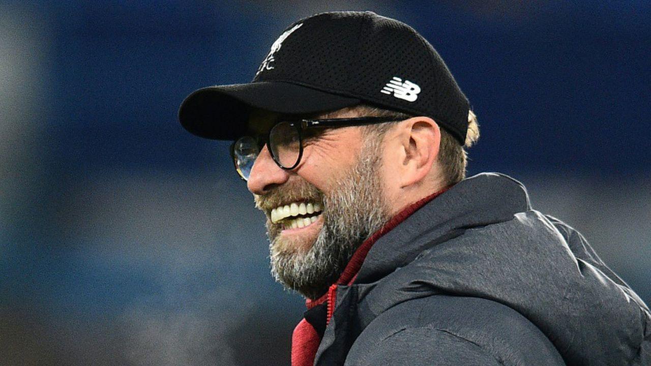 L'entraîneur allemand de Liverpool Jürgen Klopp lors d'un match contre Chelsea, le 3 mars 2020 à Londres Glyn KIRK AFP/Archives