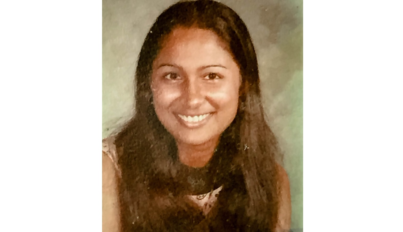 A young Opposition Leader Kamla Persad-Bissessar
