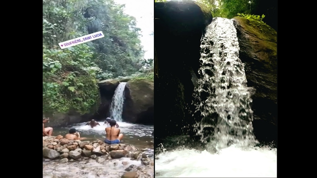 Spiderman Falls in Toreille, Soufriere