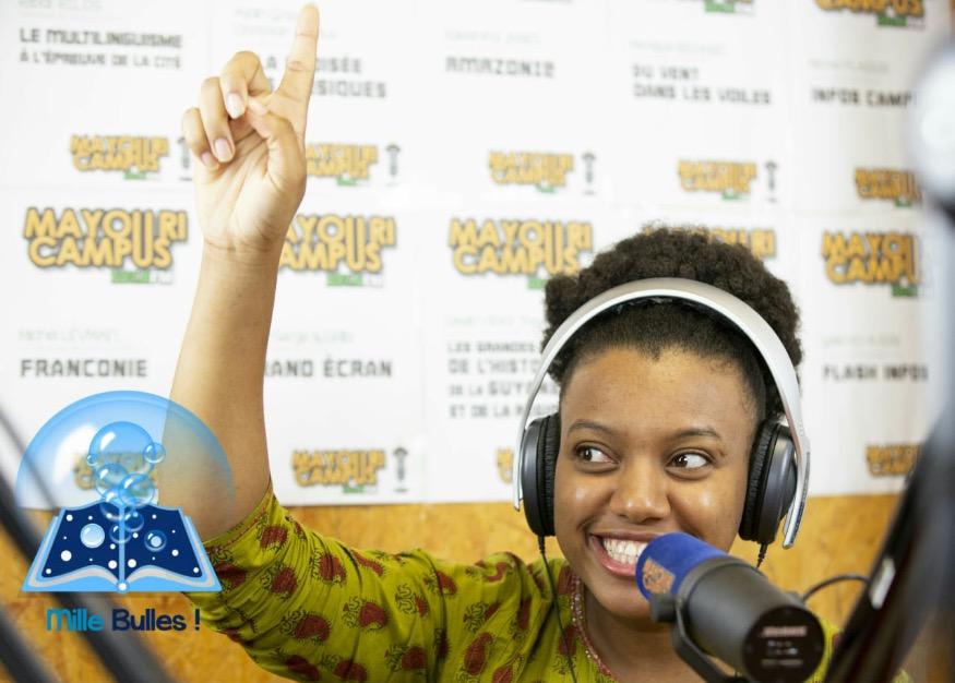 Winslow Nitza Carmela Cavalier, lauréate du prix Jeune Écrivain Guyanais 2020. Photo/Radio Synergy