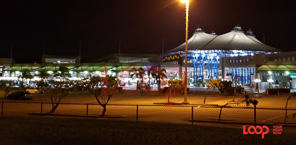 Grantley Adams International Airport at night. (FILE)