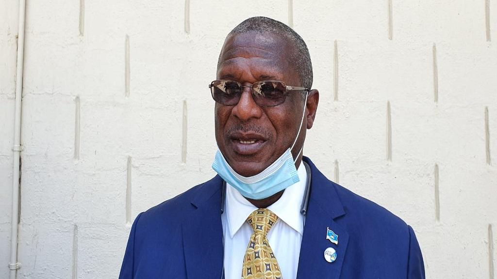 Minister for Infrastructure Hon Stephenson King
