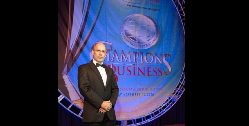 Pictured: CEO of the Trinidad and Tobago Chamber of Industry and Commerce Gabriel Faria.