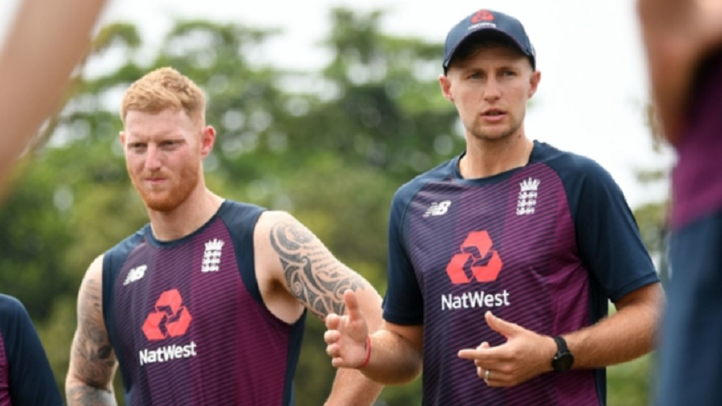 Ben Stokes, left, and Joe Root.