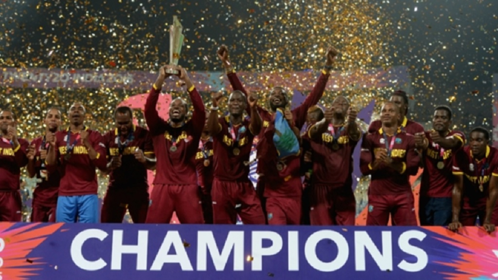 West Indies won the last T20 World Cup in 2016.