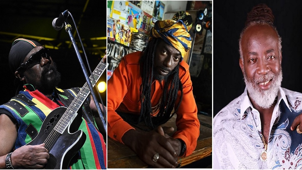 Combination of photos showing reggae icons (from left) Toots Hibbert, Buju Banton and Freddie McGregor.