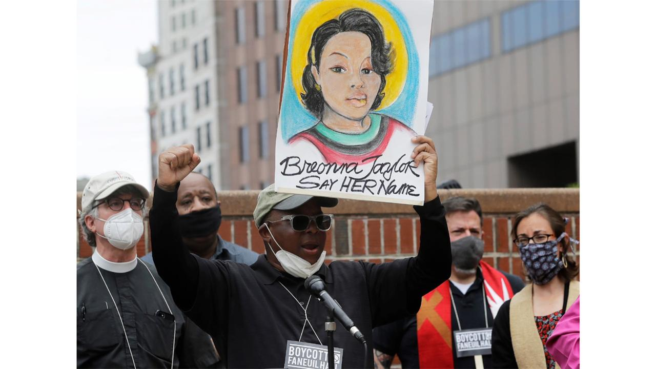 Breonna Taylor was gunned down by officers who burst into her Louisville home using a no-knock warrant. She was shot eight times by officers conducting a narcotics investigation. No drugs were found at her home. (AP Photo/Steven Senne, File)