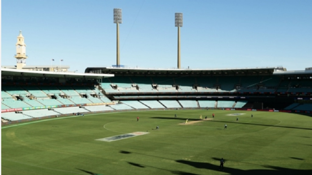 A view of the Sydney Cricket Ground in Australia.