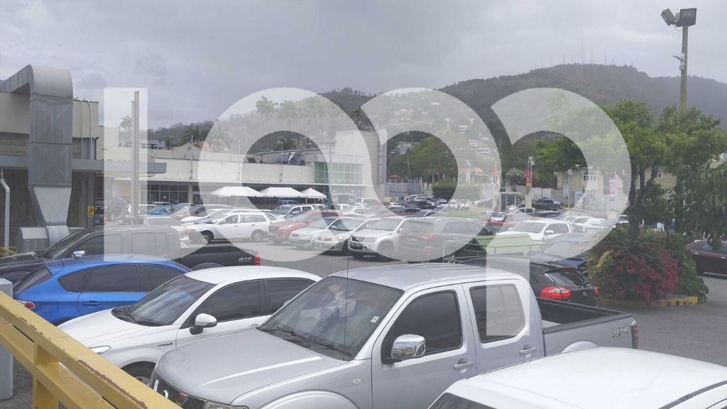 Pictured: The Long Circular Mall car park was filled to capacity on Monday as the mall reopened for business, as Government continues with its phased reopening of the country. Photo by Nneka Parsanlal.
