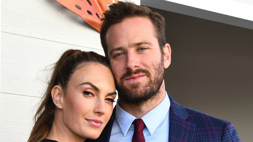 Armie Hammer and his wife Elizabeth Chambers Hammer