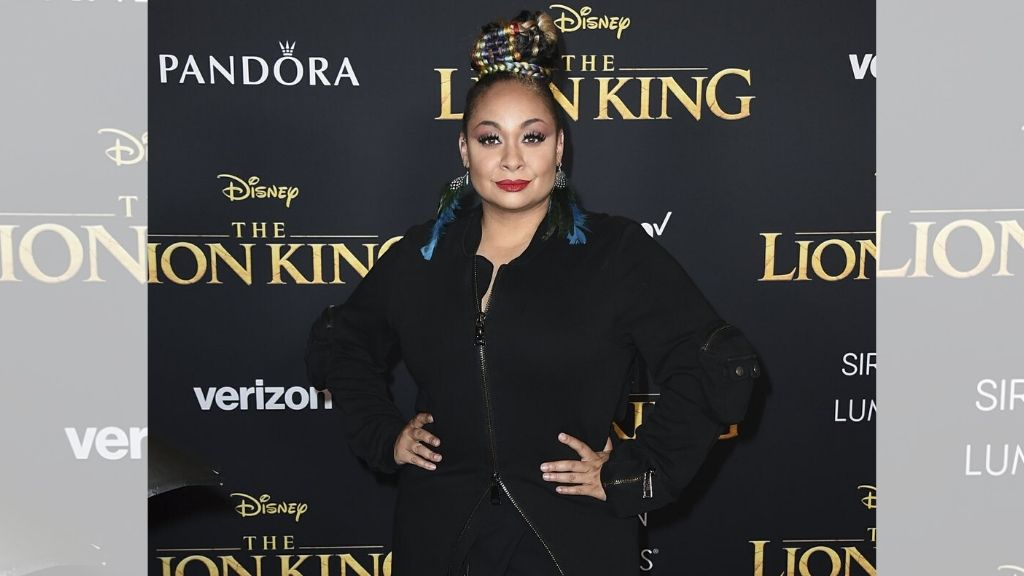 """Raven-Symone arrives at the world premiere of """"The Lion King"""" in Los Angeles. (AP Photo)"""