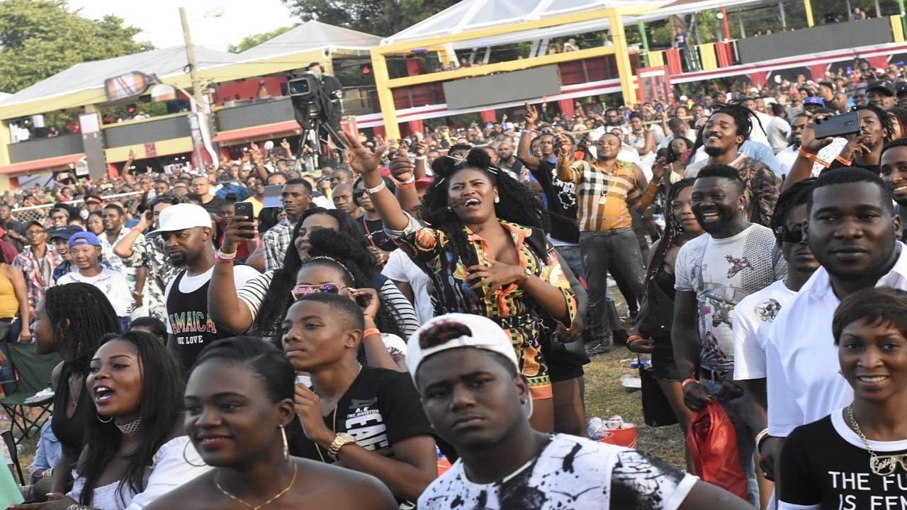 File photo of patrons at Reggae Sumfest in 2018.