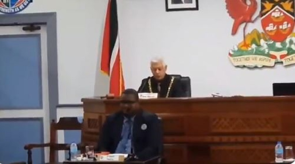 Port-of-Spain Mayor Joel Martinez.