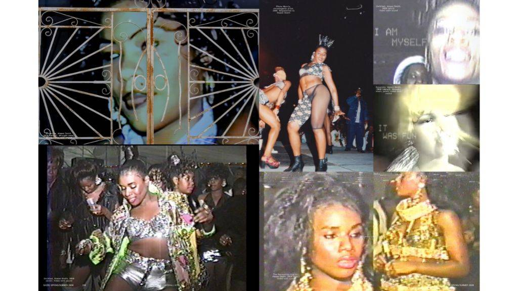 Stills from the Ackeem Smith: No Gyal Can Test exhibition. (Photos: Dazed, June issue)
