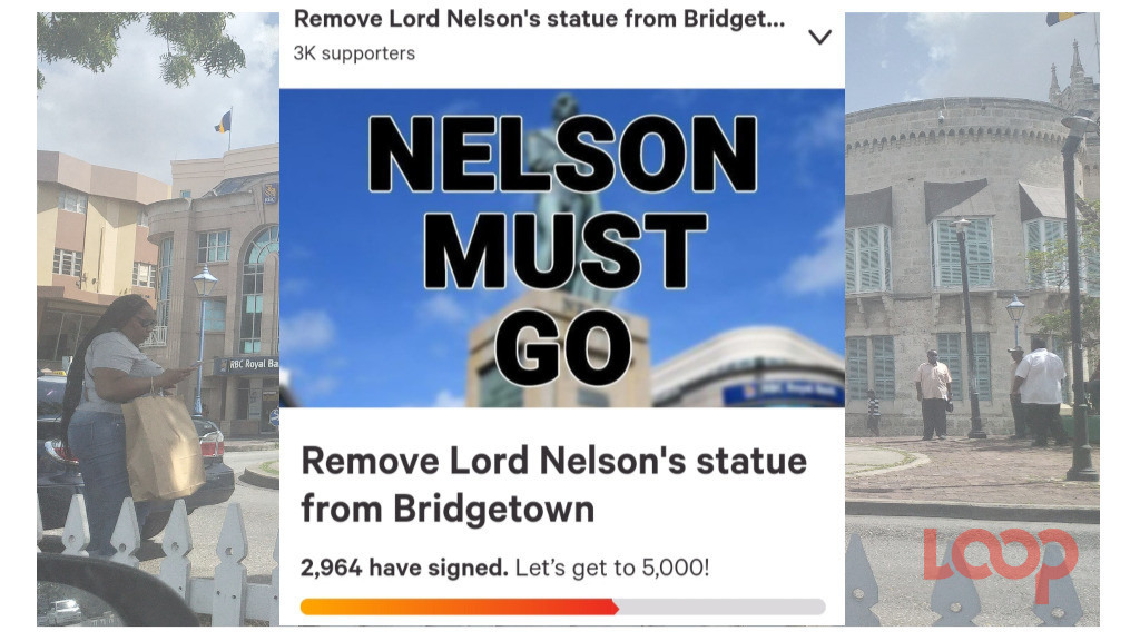 Lord Nelson Must Go Petition image from website