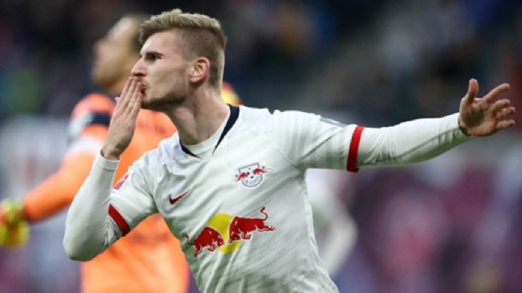 RB Leipzig forward Timo Werner.