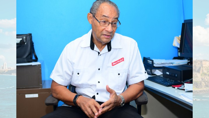 Red Stripe's Occupational Health Physician Dr Horace Fisher encourages and informs at-home safety practices.