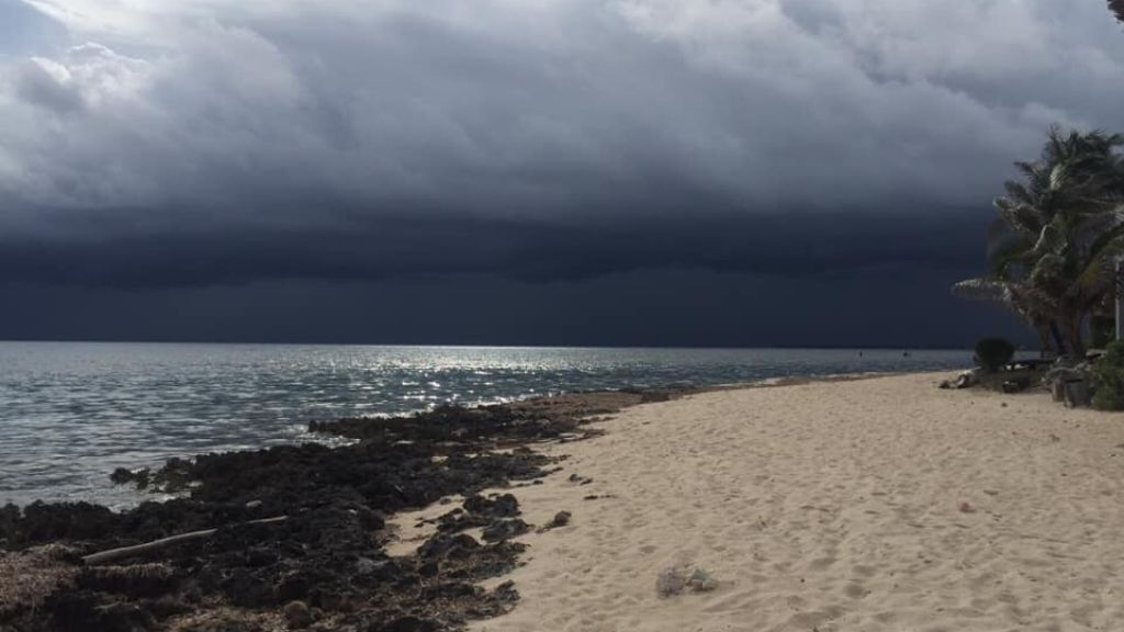 Gloomy conditions persisted for most of the weekend; Photo Credit: Jill Brooks-Sims