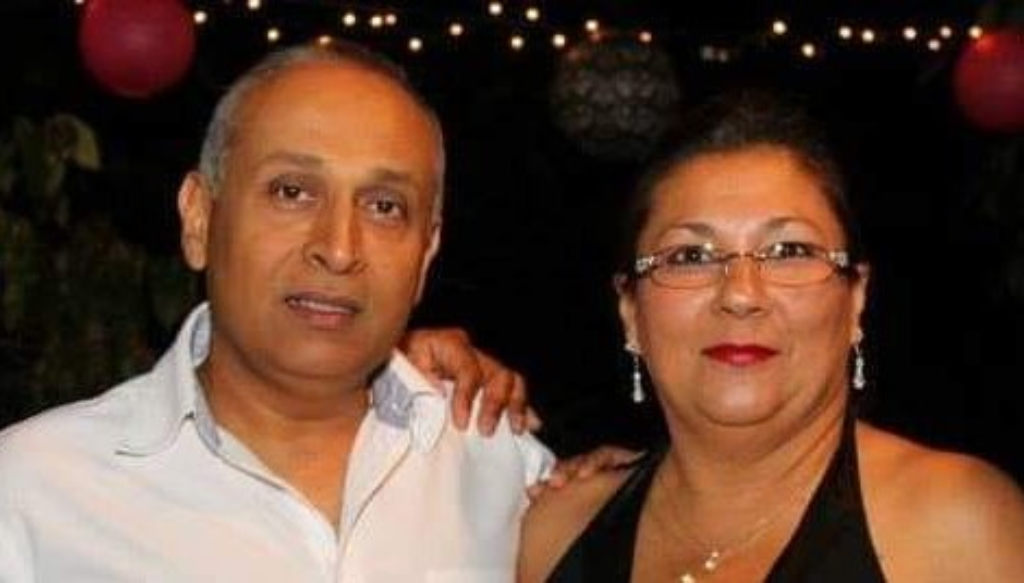 Tragically killed in an accident: Christopher and Nicole Figuera