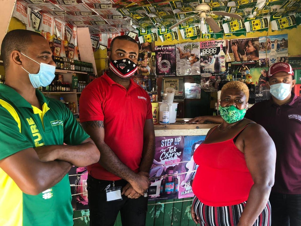 Some 2,000 bar operators are set to benefit from the J  Wray and Nephew initiative.