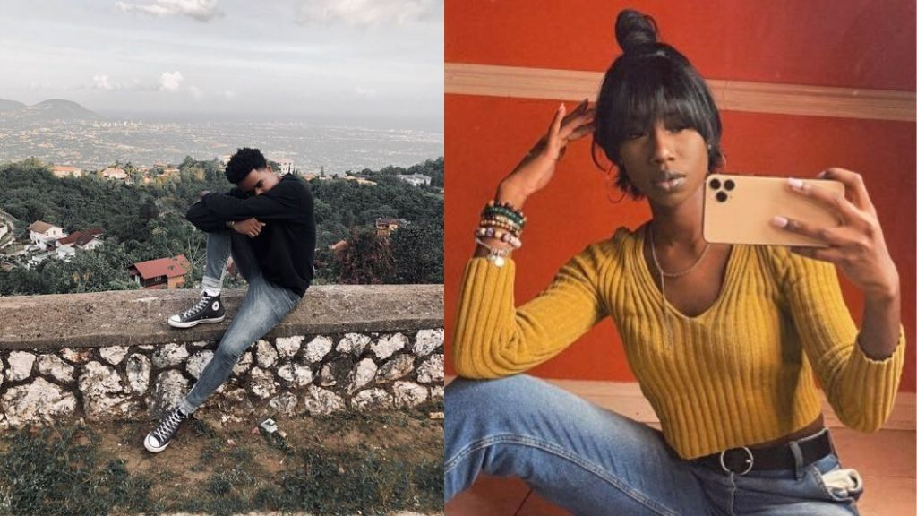 Fashion stylist Neko Kelly (l), model Abihail Myrie, both featured on TeenVogue's 13 Best Vogue Challenge list. (Photos: via Twitter)