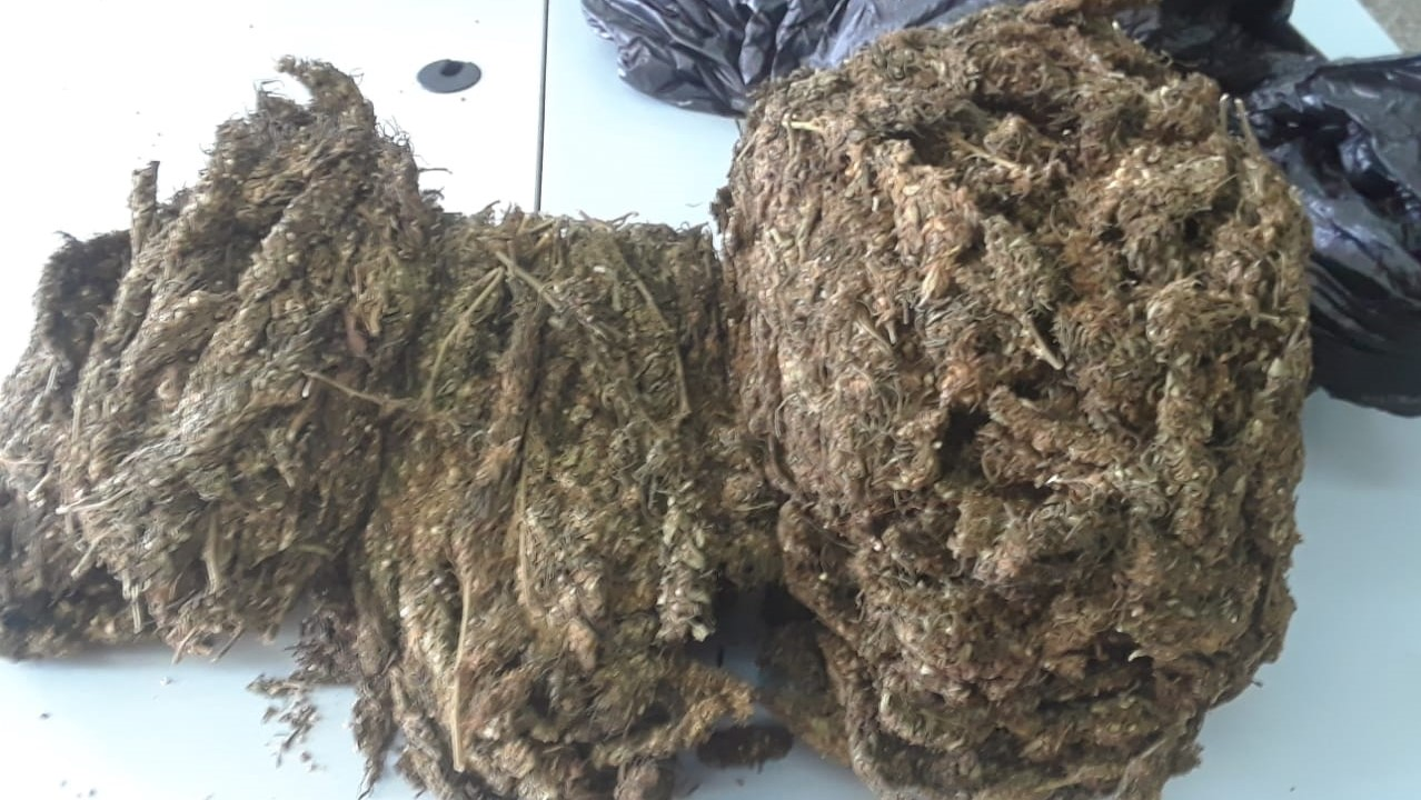 Found and seized: Four kilogrammes of marijuana