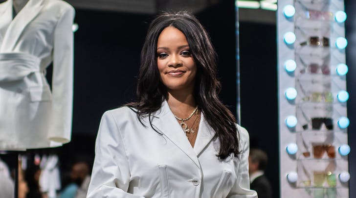 Rihanna at the opening of Fenty (FILE)